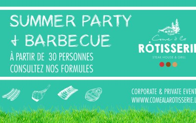 Summer Party & Barbecue d'été