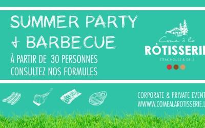 Summer Party & Barbecue d'été