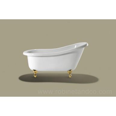 baignoire ilot slipper 151 x 72 cm