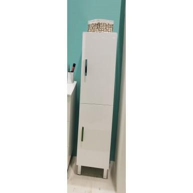 colonne salle de bain a poser montecarlo couleur blanc moderne