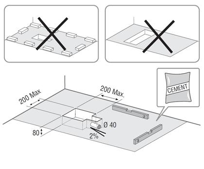 conseils de pose receveurs hidrobox