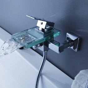 contemporaine cascade chrome robinet de
