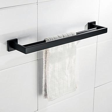 barres de serviette 1 piece antique acier inoxydable barre porte serviette salle de bain