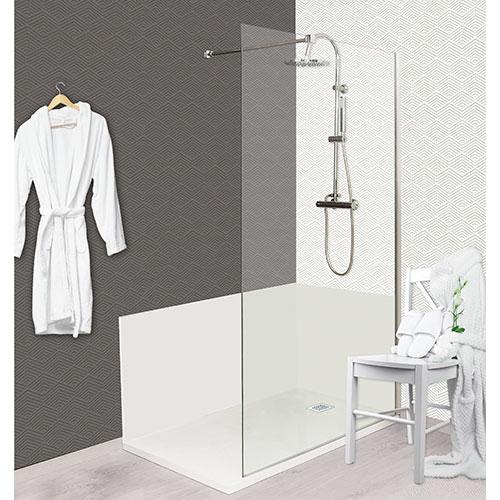 panneau mural blanc 90 x 90 concept o 508926