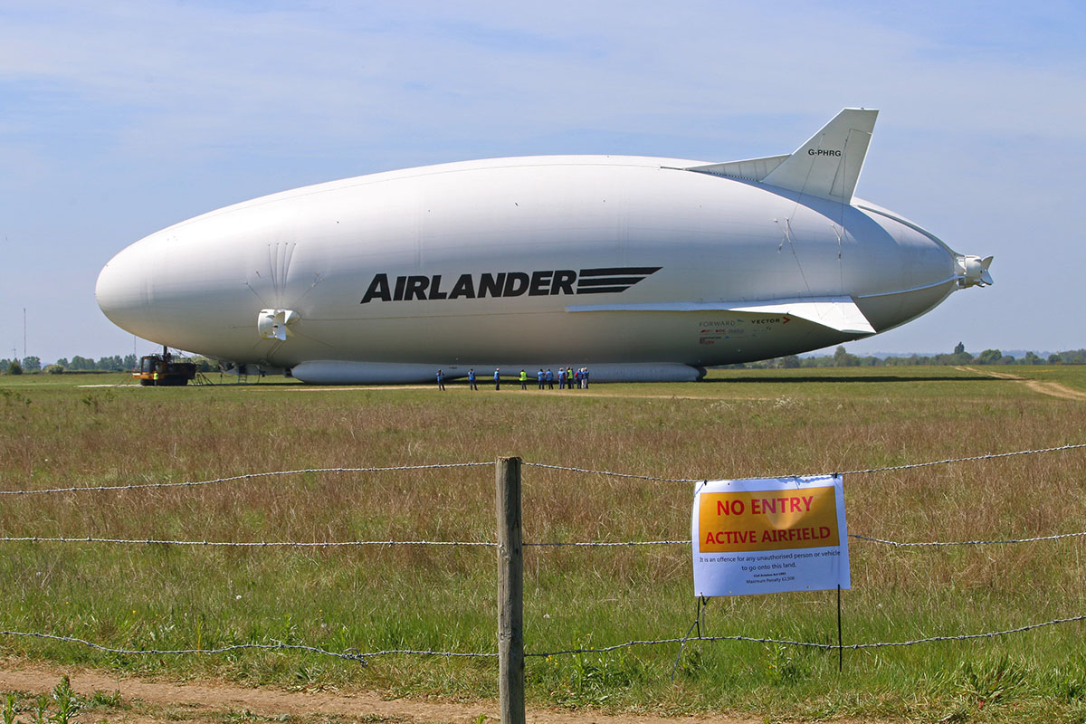 Forget the Goodyear Blimp. The race is on to launch a new breed of game-changing hybrid airship