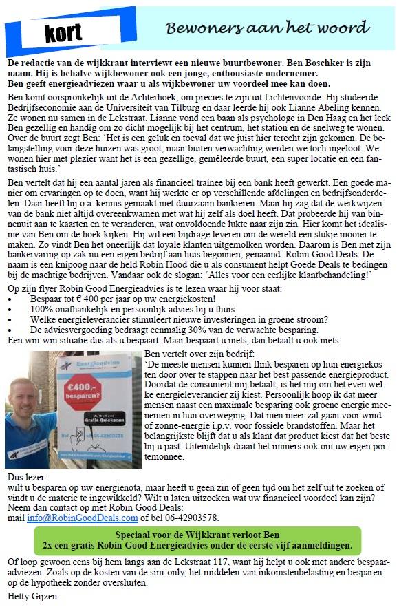 wijkkrant-artikel