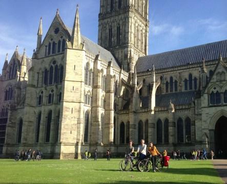 They really like god in Salisbury