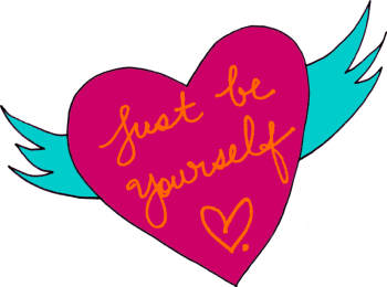 just be yourself heart and wings by robin hallett