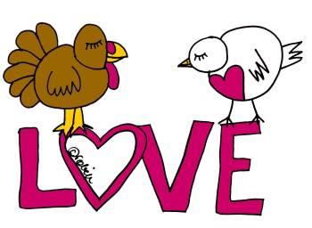 Turkey-Bird-Love