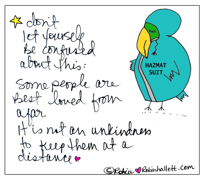 don't let the turkeys get you down - wisdom from robin hallett