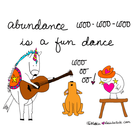 abundance is a fun dance by robin hallett