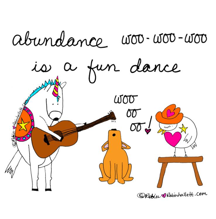 abundance is a fun dance by robin hallett