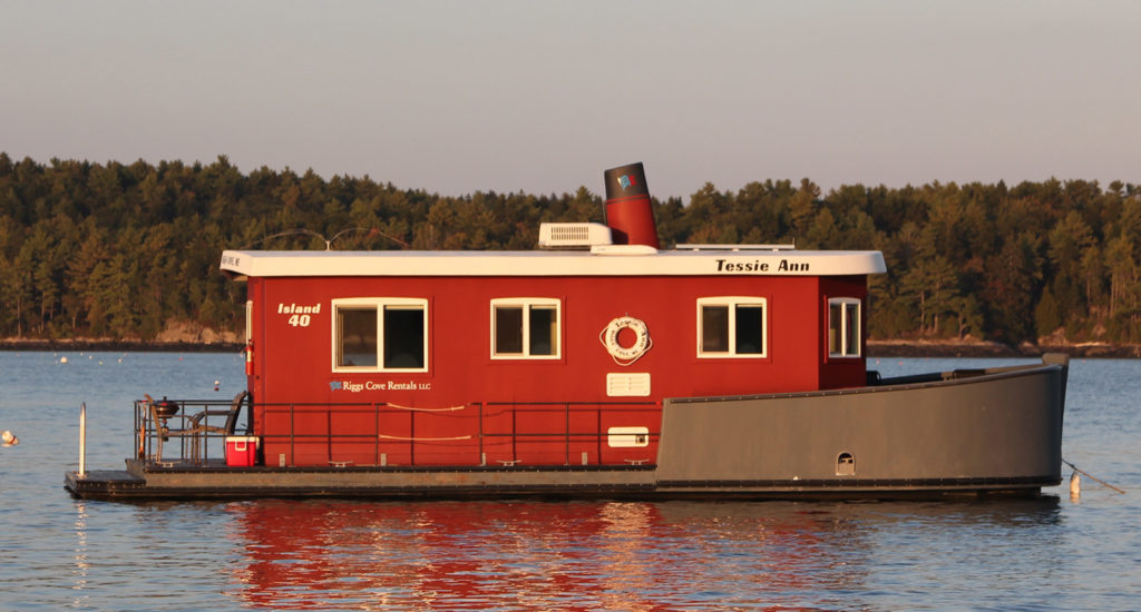 tessie ann houseboat