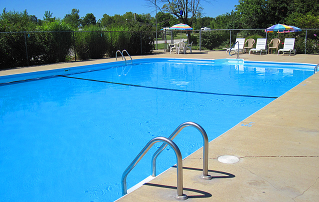 Illinois Family Campground RV Park Resort Swimming Pool