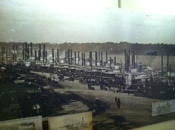 St. Louis levee 1852