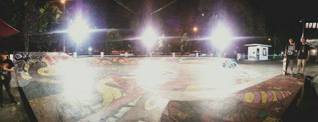 Skatepark di Loop Station. Foto: Cholay.