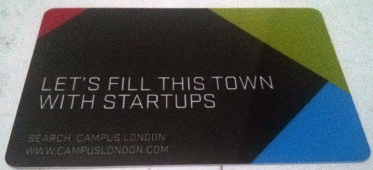 Campus London Card