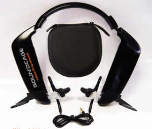 Make your own custom fit earphones.