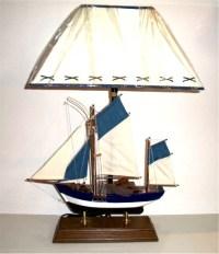 Robin's Dockside Shop - Fishing Boat Table Lamp