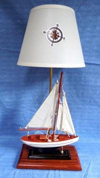 Robin's Dockside Shop - Sailboat Table Lamp