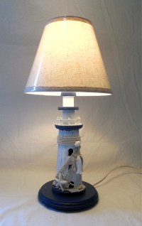 Robin's Dockside Shop - Nautical Lighthouse Table lamp