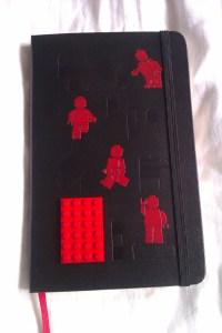 Lego Moleskine cover