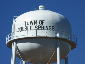 Double Springs, Alabama water tank