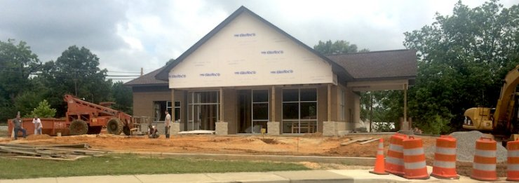 Haleyville Water Department under construction