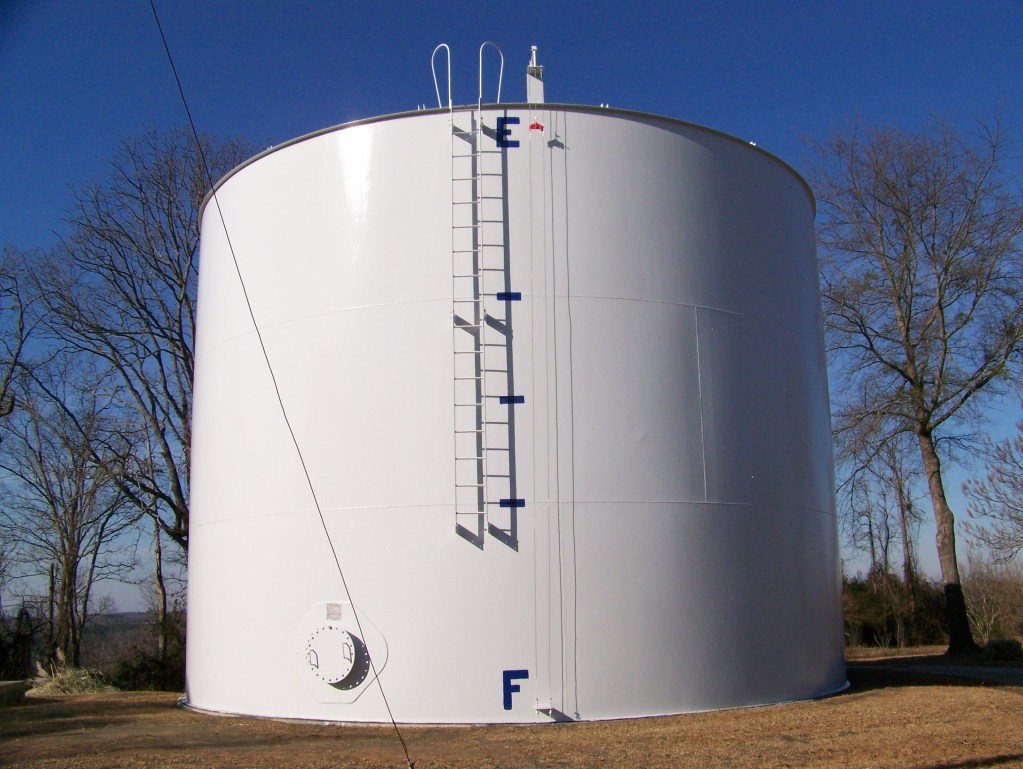 Kennedy, Alabama - ground storage water tank