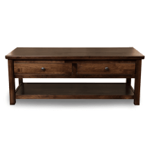 Mission Style Coffee Table - Wood Tables Robinson