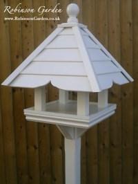 Montague Bird Table - Bespoke handcrafted bird feeder ...