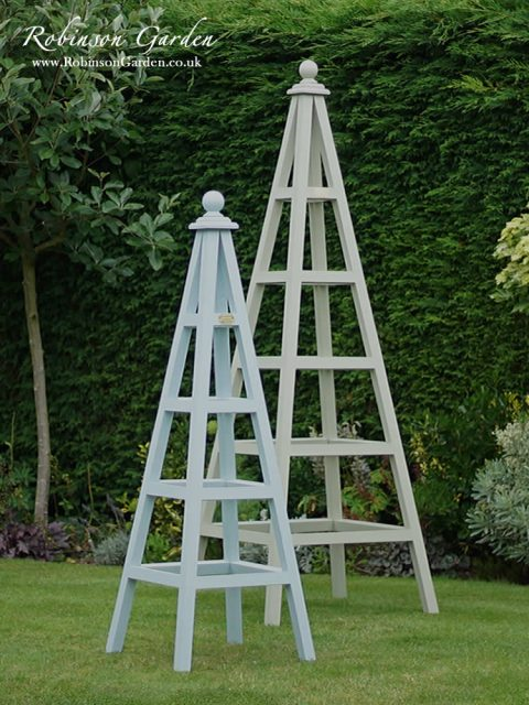diy rocking chair kit heated chairs home bespoke wooden garden obelisks - robinson