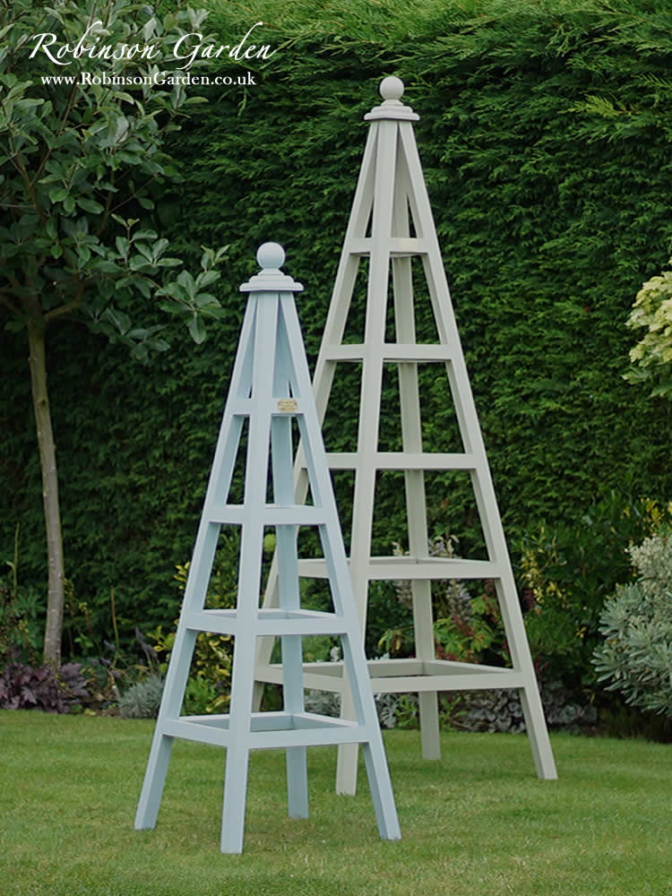 How Build Garden Obelisk