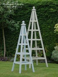 Windsor Bespoke Wooden Garden Obelisk handcrafted by ...