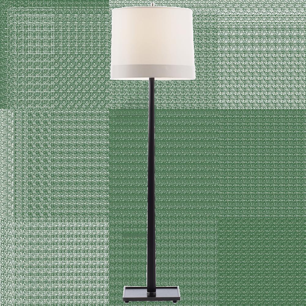 barbara barry octagon walnut stain 1lt floor lamp