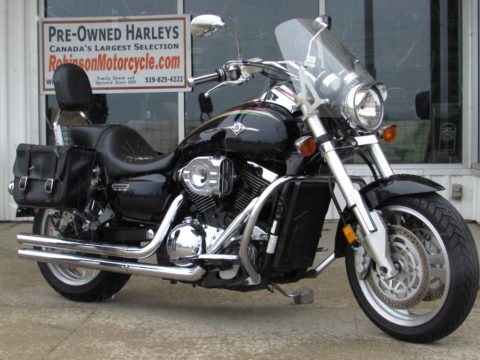 2002 Kawasaki Vulcan Mean Streak 1500  - Throaty Vance and Hines Exhaust - ONLY $19 Week