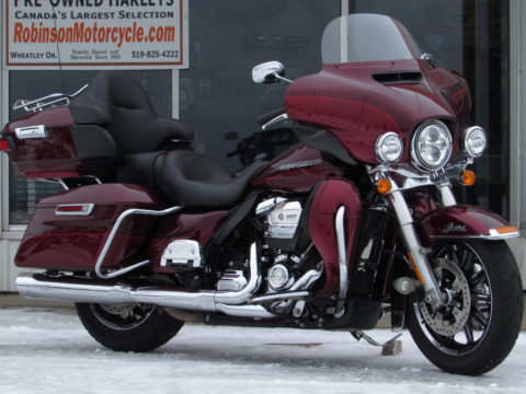 2017 Harley-Davidson FLHTK Ultra LIMITED  107 Milwaukee 8 - Local from NEW - $49 Week
