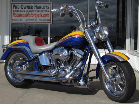 2006 Harley-Davidson CVO Fat Boy FLSTFSE2   - Stand out, CVO Show Bike - Screamin' Eagle 103 - ONLY $34 Week