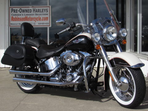2011 Harley-Davidson Softail Deluxe FLSTN   - Cobra Exhaust - Touring Or Solo - Low $36 Week