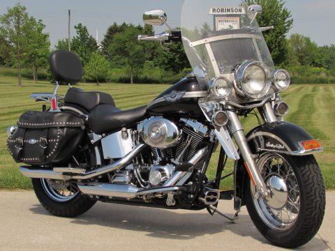 2003 Harley-Davidson Heritage Softail Classic FLSTC   Low 26,000 miles - Stage 1 - New Price $32 Week