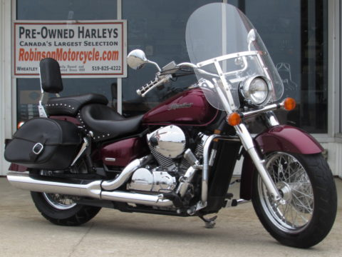 2004 Honda Shadow Aero 750  - Touring or Solo - Low Seat height - ONLY $18 Week
