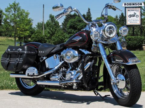 2011 Harley-Davidson Heritage Softail Classic FLSTC   - Amazing Merlot Pearl - $7,000 in Options - $44 Week  - ABS and More