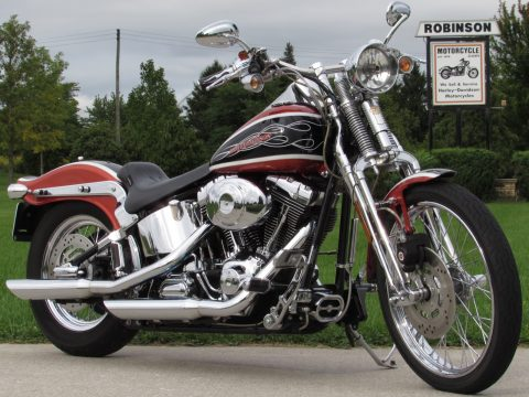 2005 Harley-Davidson Softail Springer FXSTS  HD Radical 15 / 200 - ONLY 8,000 miles! - Low $42 Week
