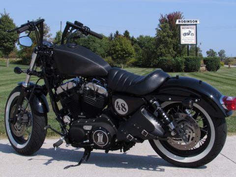 2010 Harley-Davidson XL1200X Forty-Eight  - Bobber 48 - $3,500 in Options - Throaty Stage 1 Exhaust