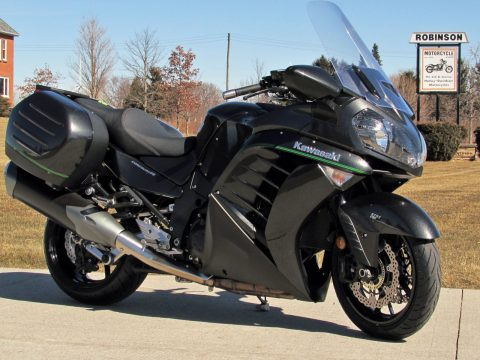 2018 Kawasaki Concours 14  ABS Brakes - Strong and Smooth - Low $39 Week - New Dunlop Tires