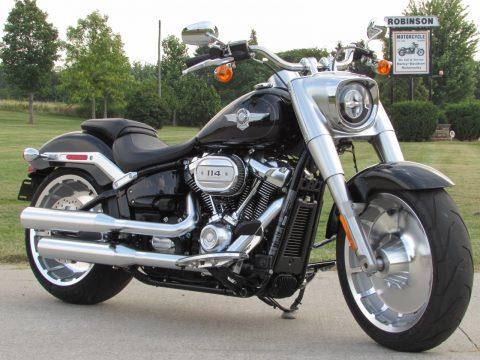 2018 Harley-Davidson FLFBS Fat Boy  - Big 114 Motor - ONLY 780 KILOMETERS