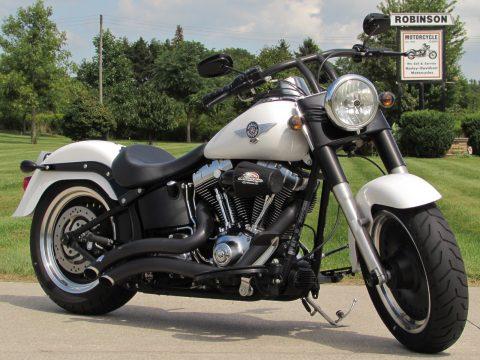 2011 Harley-Davidson Fat Boy Low FLSTFB   - ONLY 19,400 KM - Cool Black T Bars