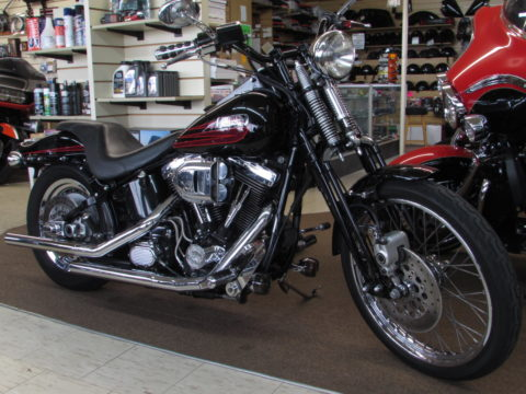 1995 Harley-Davidson Bad Boy FXSTSB  -Stage 2  Performance Bad Boy Springer - $39 Week - Mikuni Carb and Cam