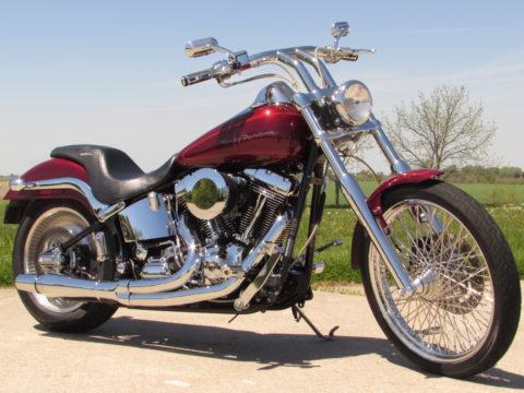 2000 Harley-Davidson Softail Deuce FXSTD  Screamin' Eagle Big Bore - $24 week - MINT 1 Owner - $9,000 in Custom Work and Performacne