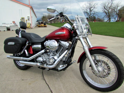 2008 Harley-Davidson Dyna Super Glide Custom FXDC   - NEW PRICE $9,950 !! - Cruising or Touring - 96 ci & 6 Speed Transmission